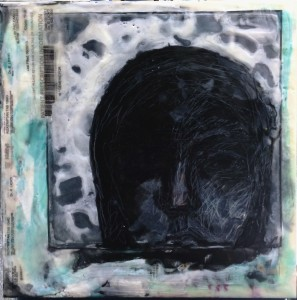 """Generic"" Encaustic on 12""x12"" Encausicbord"